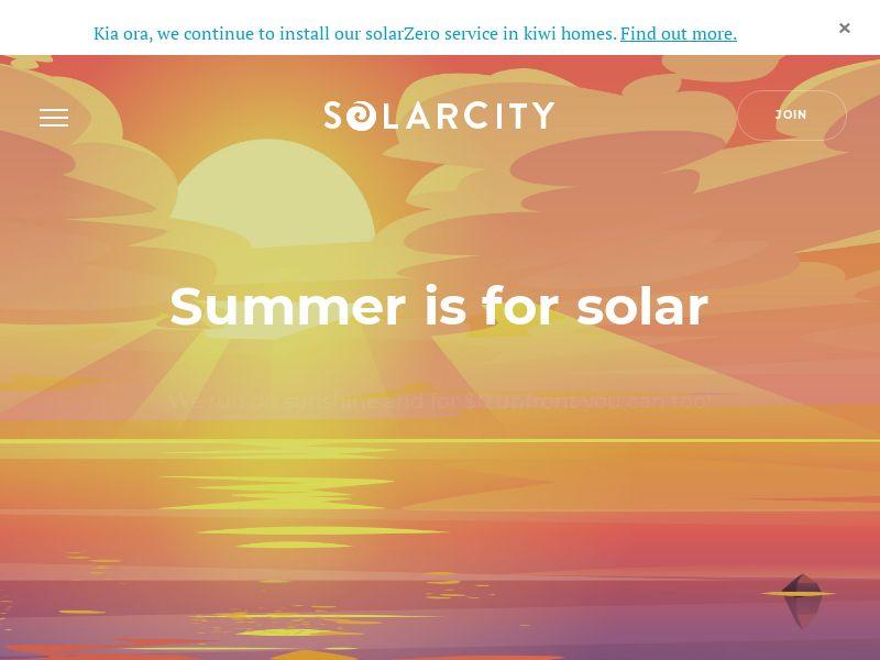 Solarcity (Form Submit) - NZ