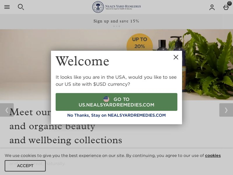 Neal's Yard Remedies UK US