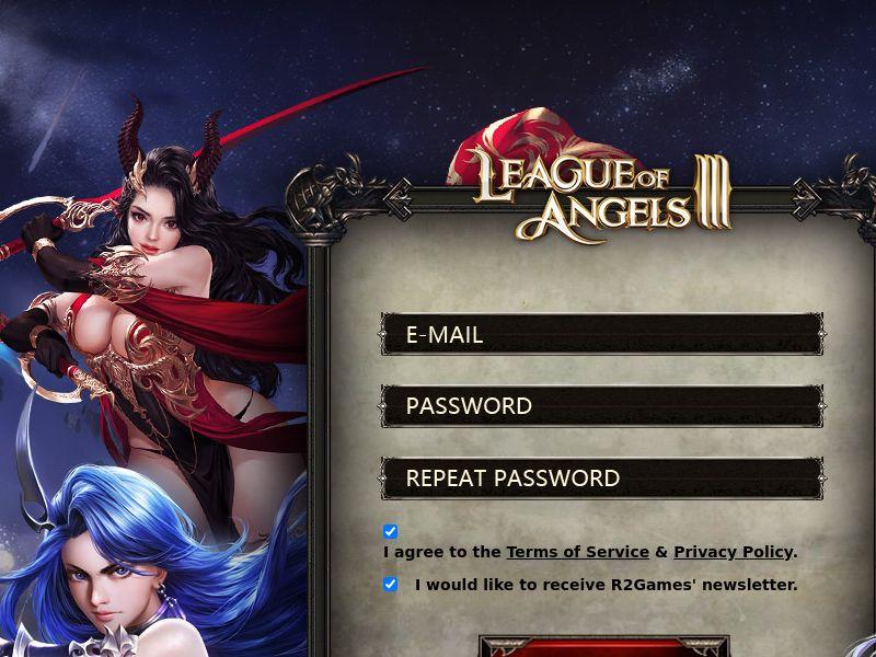 League of Angels 3 - SOI - AU/CA/FR/DE/UK/US