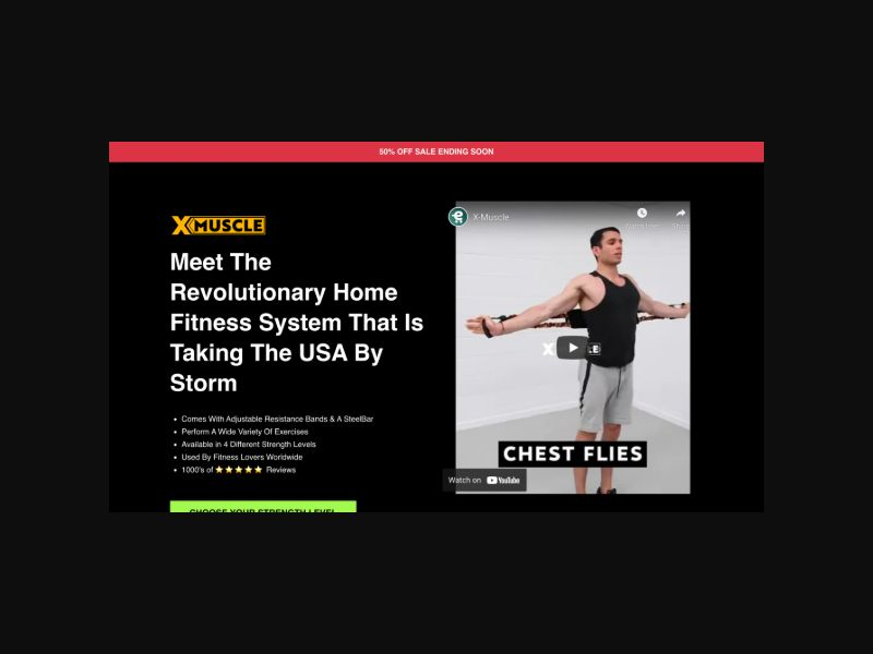 X-Muscles - Fitness Product