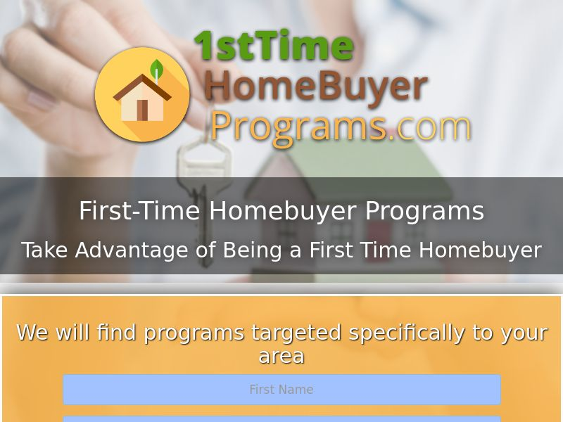 1st Time Home Buyer Program | US