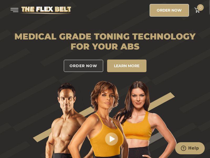 Health - Flexbelt - Ab workout - CPS (US,CA)