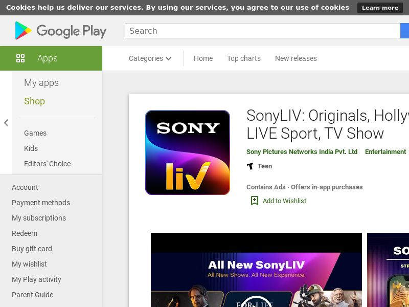 IN - 3401|Sonyliv_IN_Android_NR_CPA_nonincent - Android - (SCAPI)