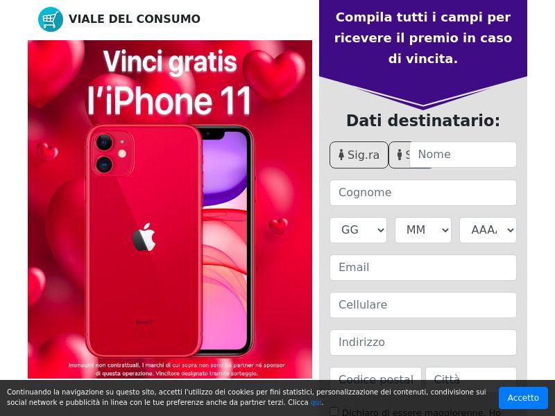 iPhone 11 gratis! IT