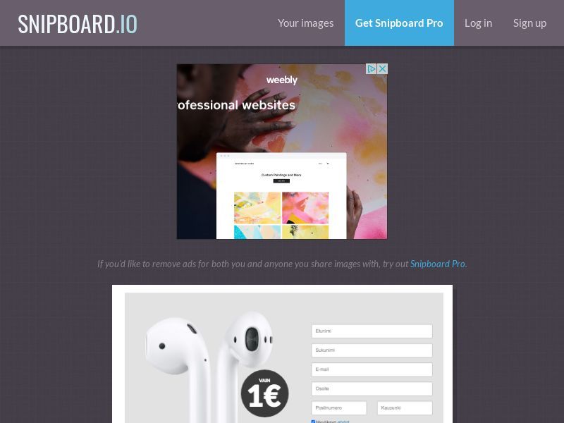 SteadyBusiness - Apple Airpods LP18 FI - CC Submit