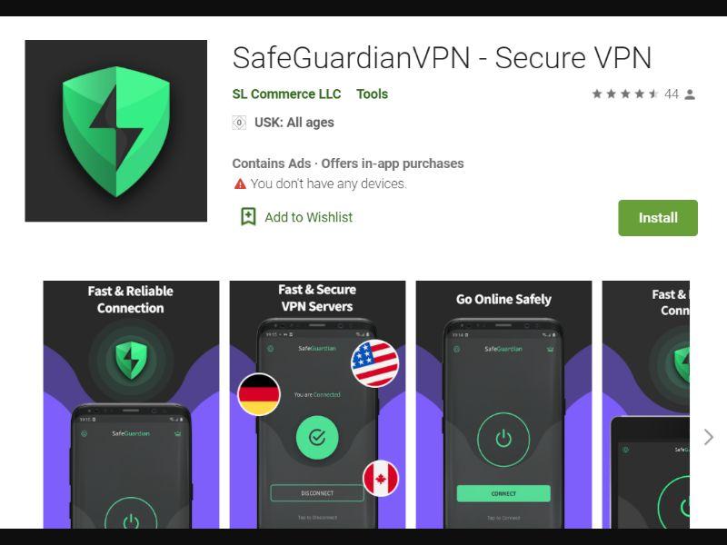 SafeGuardianVPN [GB,US] - CPI