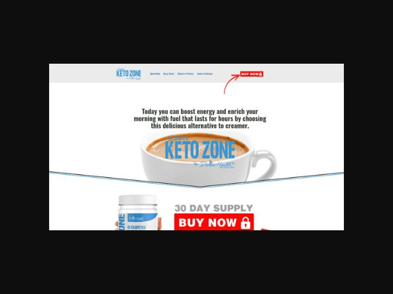 MCT Oil Powder - Keto Coffee Creamer (US)