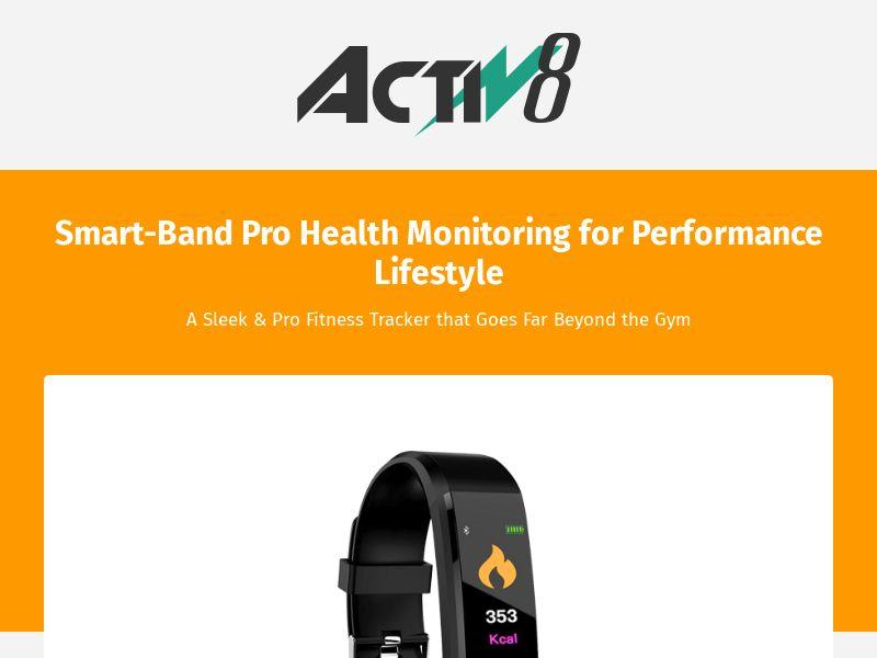 ActiV8 Fitness Tracker (CPA) (INTL)