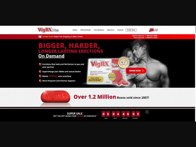 VigRX Plus - Male Enhancement - SS - [All GEOs]