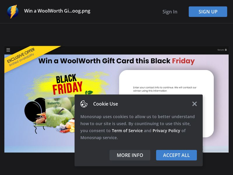 Australia (AU) - YouSweeps - $1000 Woolwoth Gift Card (Responsive)