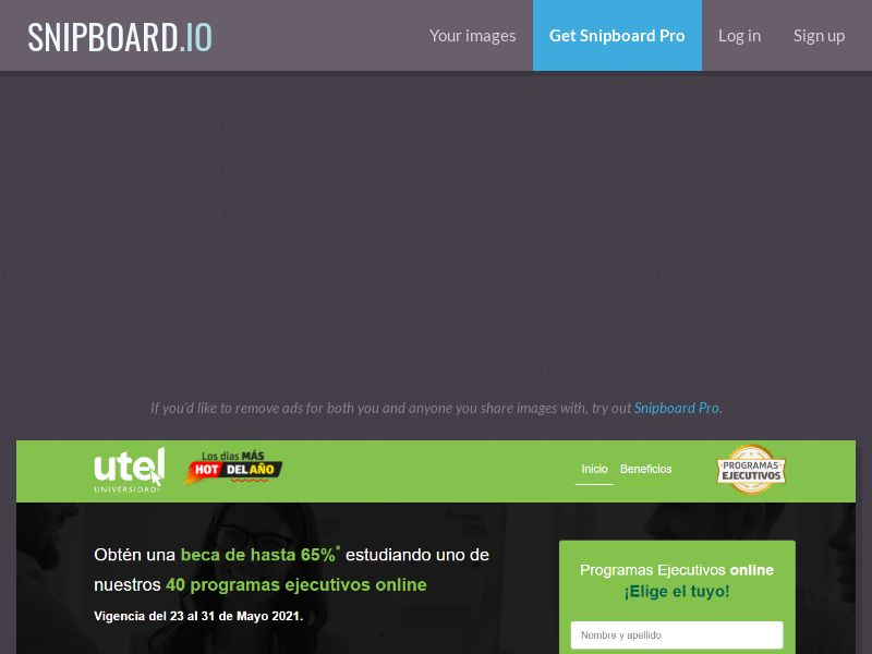 41596 - MX - UTEL Ejecutivas Licenciaturas - MX - CPL - [monthly 300 cap] - [push]