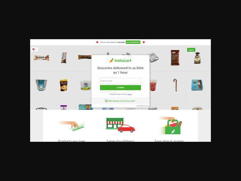 Instacart - Groceries Delivery (US)