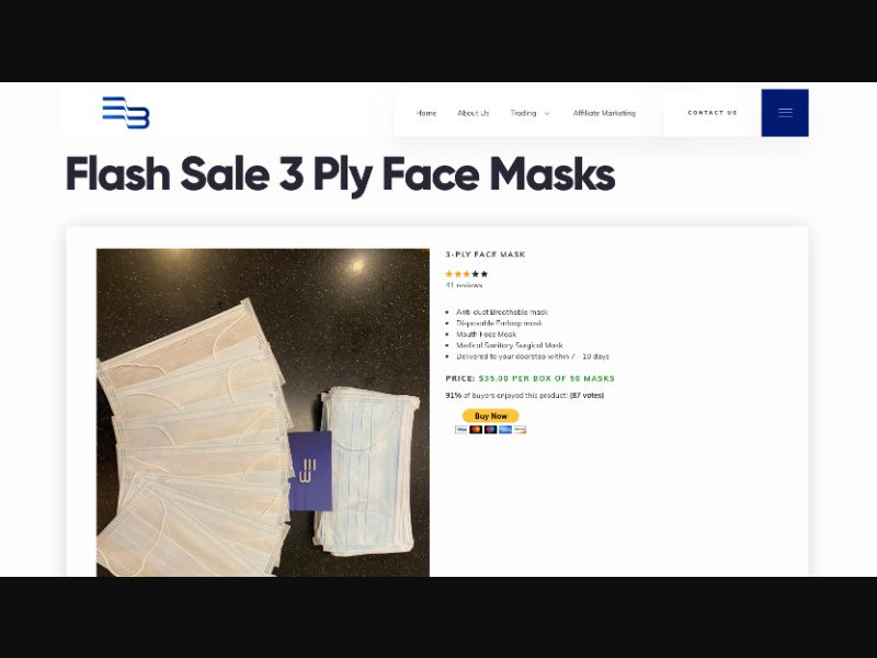 Protective Face Mask - CC Submit - US - Other - Responsive