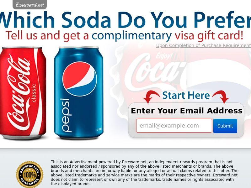 Coke vs. Pepsi - US - CPL - Incent - DIRECT