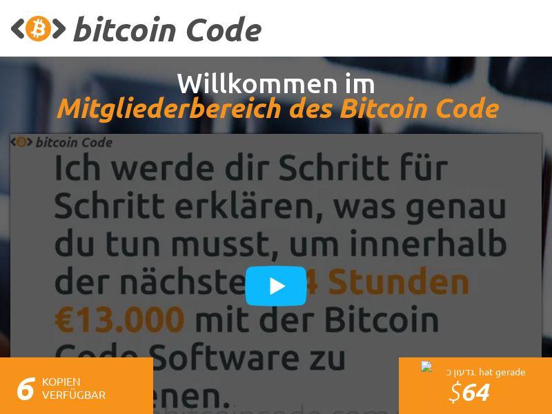 The Bitcoin Code СPA DE