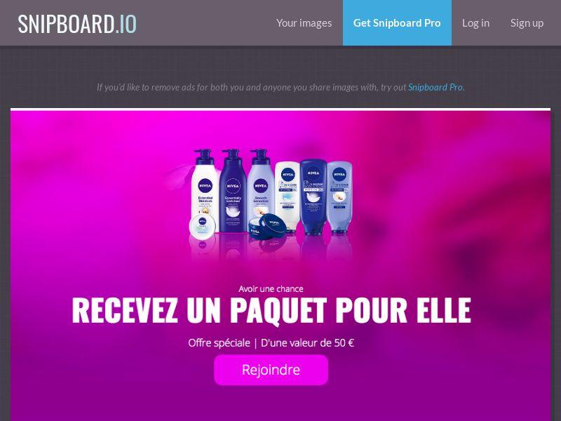 LeadMarket - Nivea Cosmetics FR - SOI