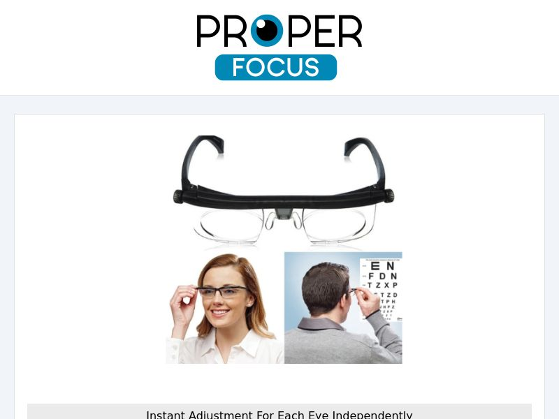 VisionPro - Adjustable Reading Glasses [INTL] (Native,Social,Banner,SEO,Search) - CPA {No Email}