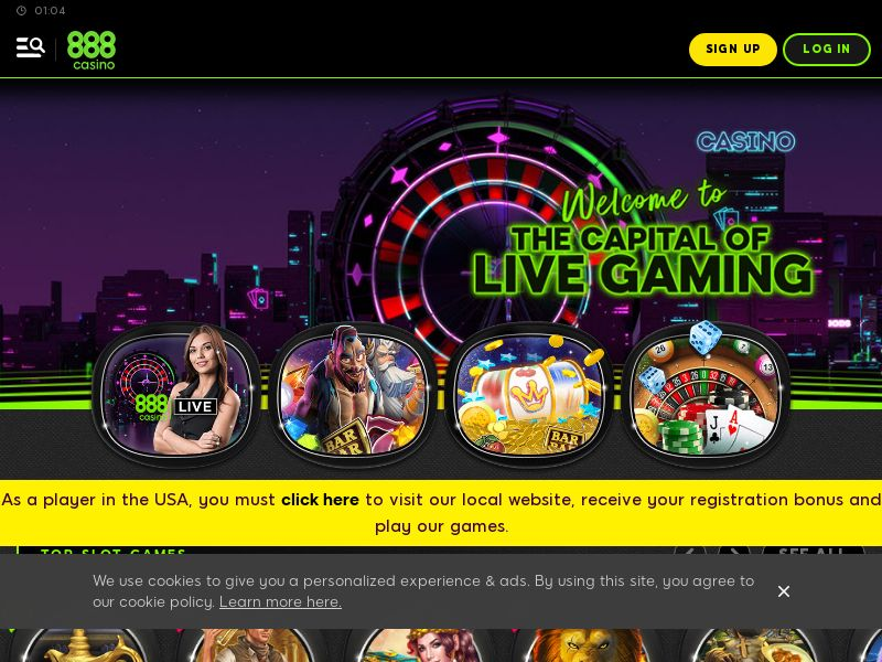 888Casino.com Casino CPA - UK