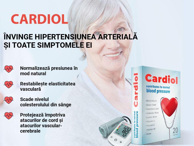 Cardiol RO - pressure stabilizing product