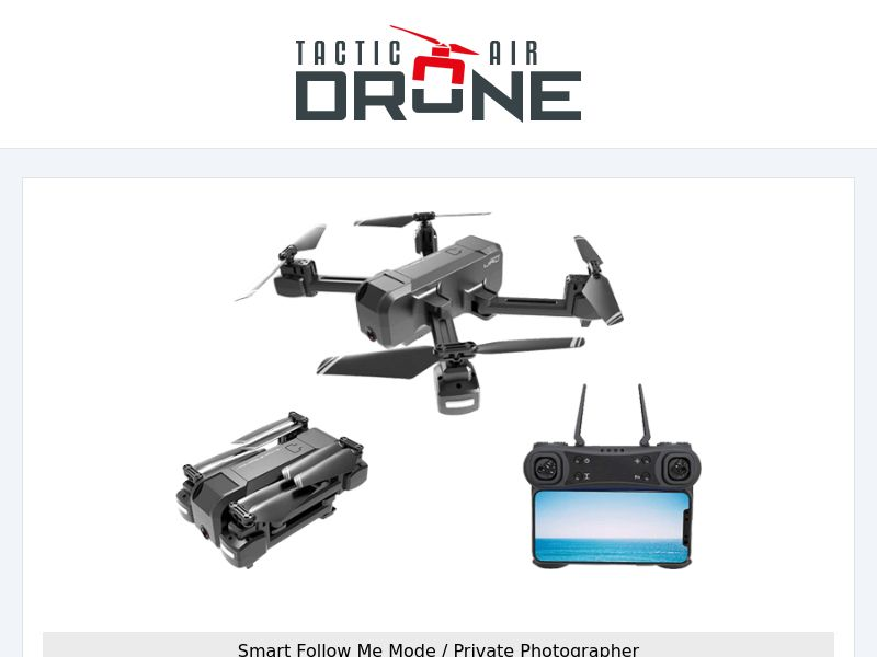 Tactic AIR Drone (PPS) - eCommerce - WW