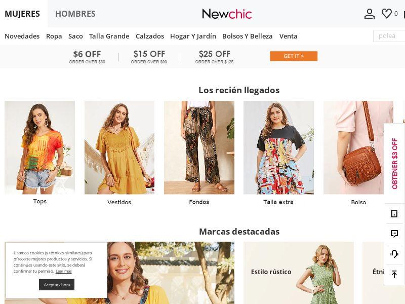 Newchic - ES (ES), [CPS]