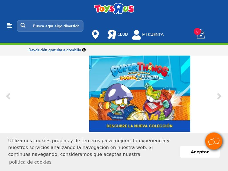 ToysRus - ES (ES), [CPS], House and Garden, For children, Sell, shop, gift