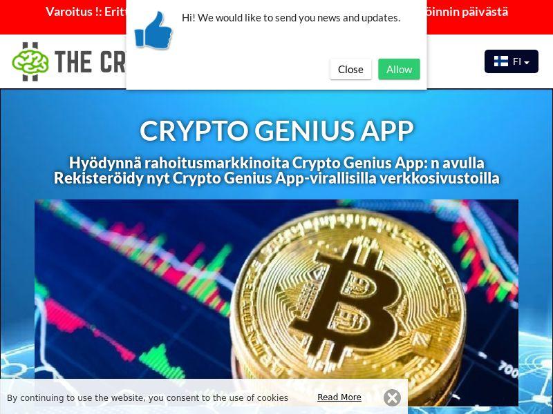 Crypto Genius App Finnish 2733
