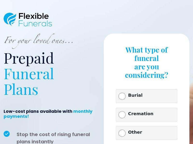 Funerals - Long Form Lander - D2 - UK