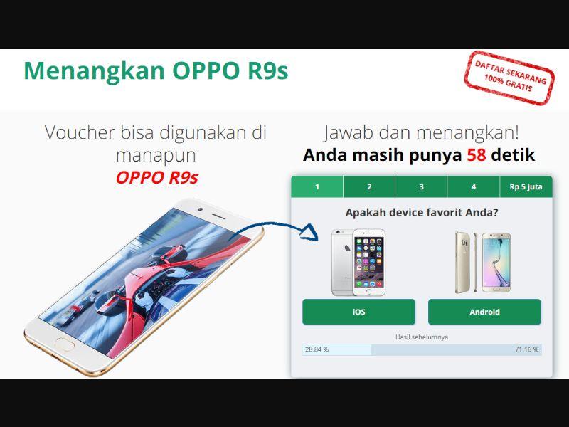 ID - Win smartphone OPPO [ID] - SOI registration