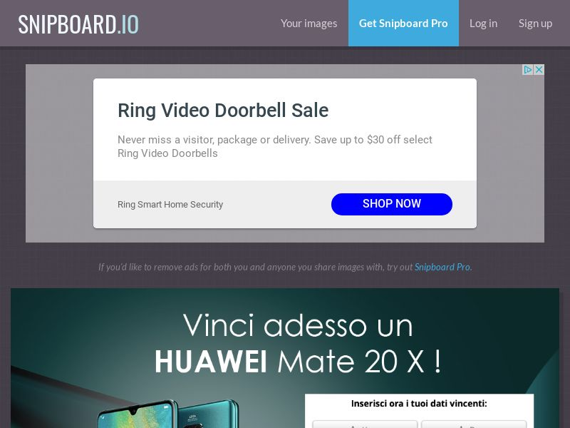 WinMarketing - Huawei mate 20X IT - SOI