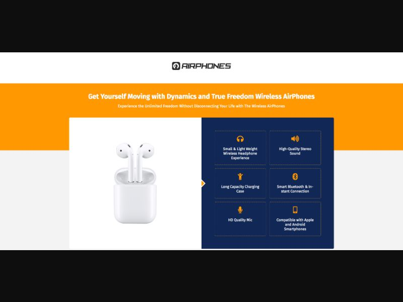 AirPhones - CC Submit - FR-US-IN-UK-DE - E-commerce - Responsive