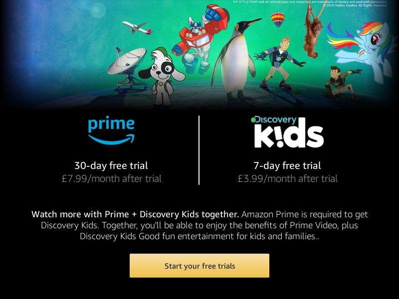 Prime Video: Discovery Kids - INCENT - UK