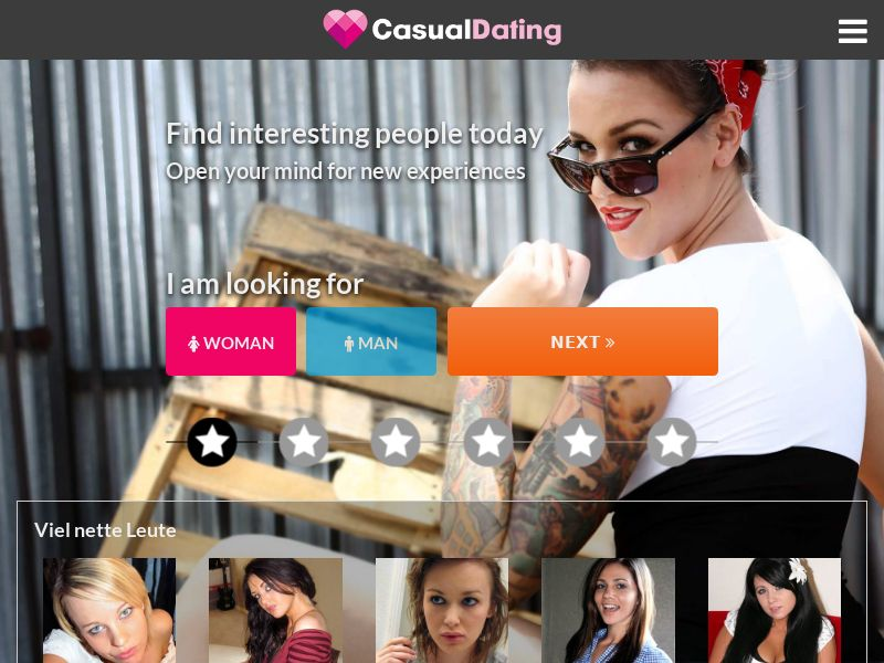 CasualDating - ZA (ZA), [CPL], For Adult, Dating, Content +18, Single Opt-In, women, date, sex, sexy, tinder, flirt