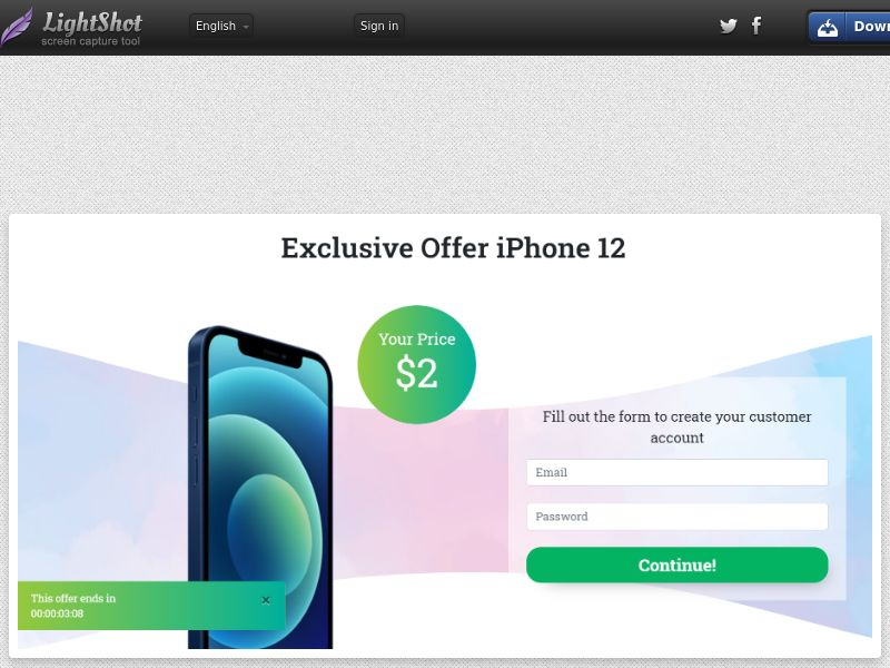 SugarBeats Exclusive Offer iPhone 12 (CC Trial) - SE FI NO DK CH BE NL