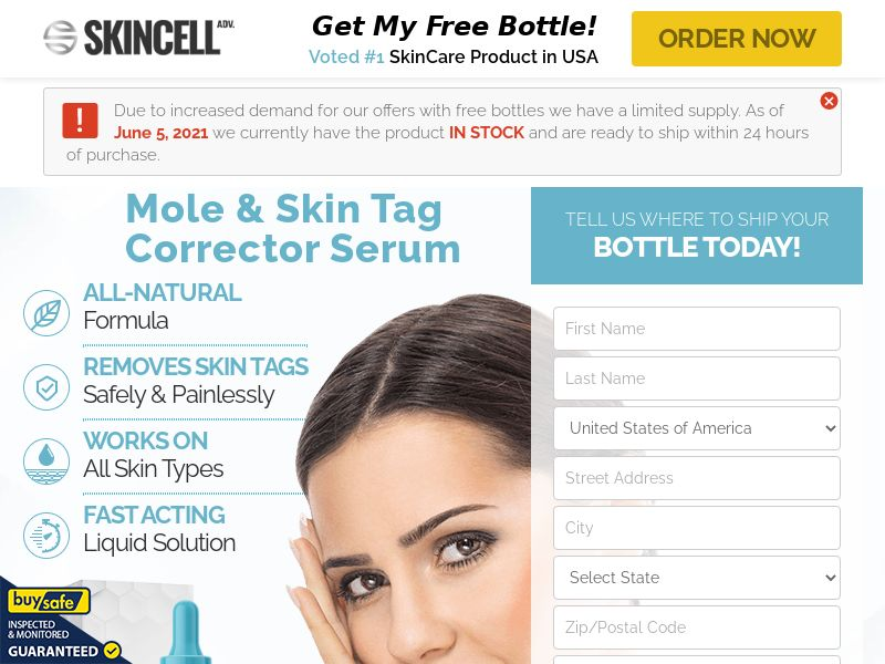 Skincell Advanced (US:CA:IE) - Mole and Skin Tag