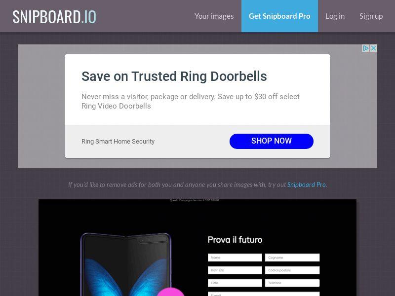 BigEntry - Samsung Fold IT - CC Submit
