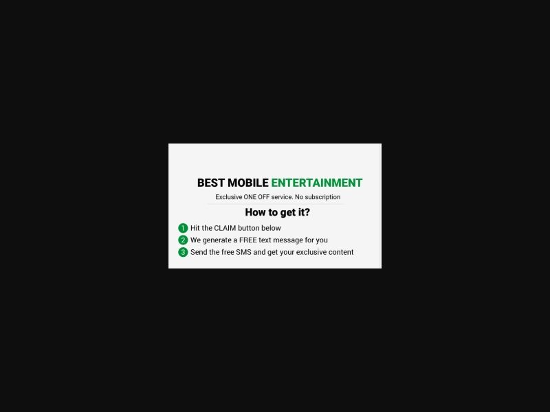 WW - Best mobile Eentertainment [WW] - Click to sms