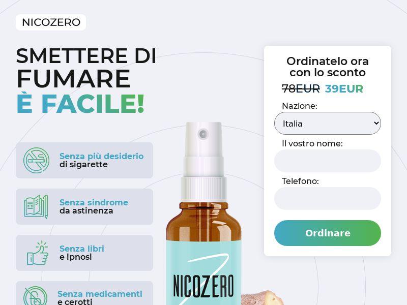 NicoZero IT - treatment for smoking