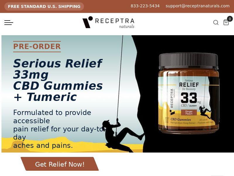 Receptra Naturals Shop - CPA