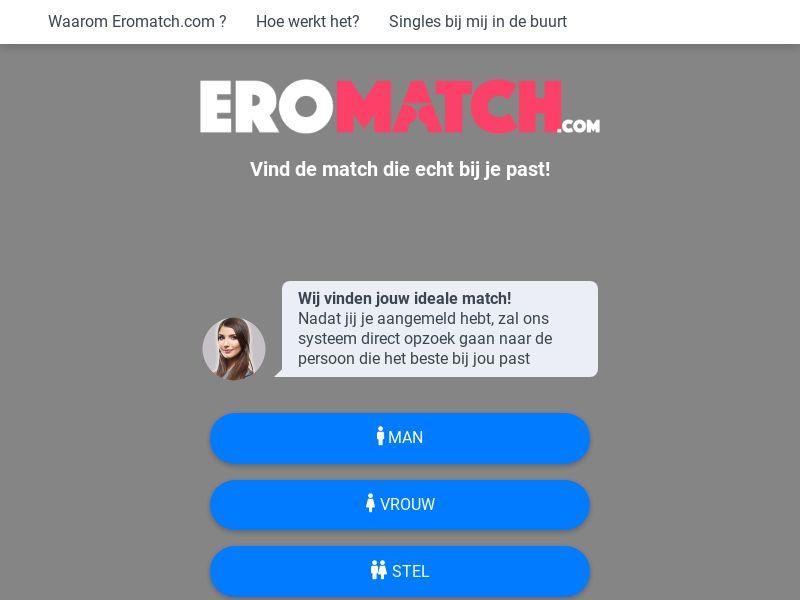 EroMatch - NL (NL), [CPL], For Adult, Dating, Content +18, women, date, sex, sexy, tinder, flirt