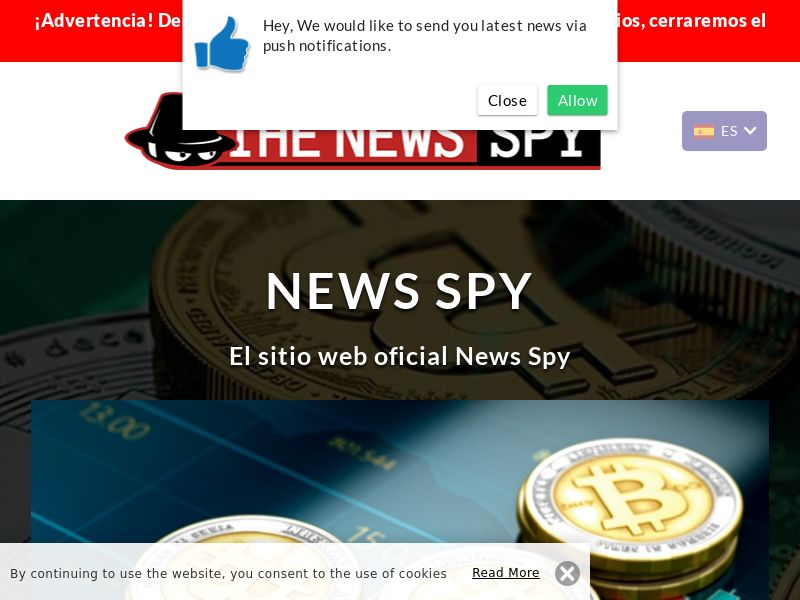 The News Spy Pro Spanish 1050