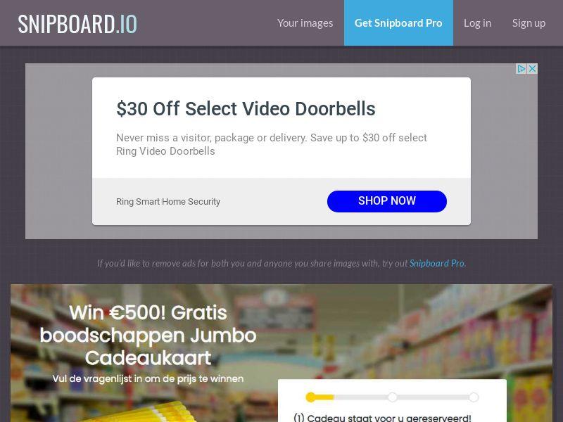 WinAds - Jumbo Supermarket Shopping NL - SOI