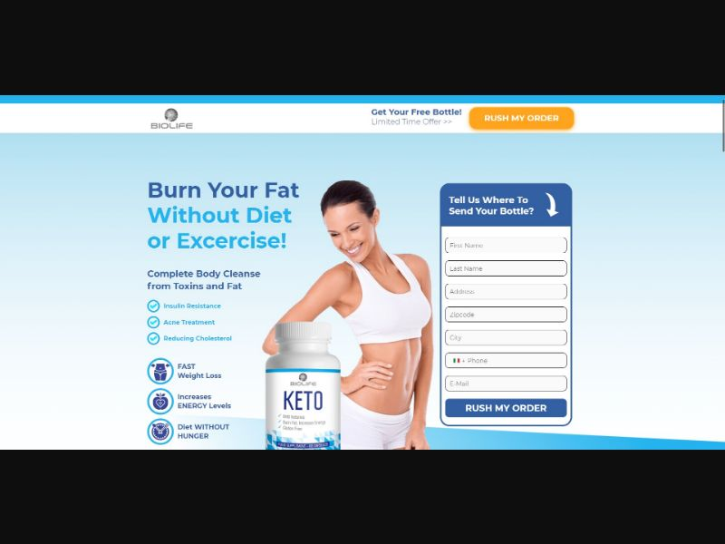 BioLife Keto - Diet & Weight Loss - SS - [IT]