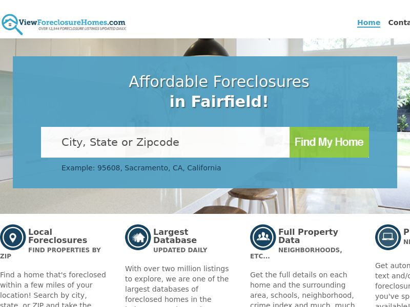 ViewForeclosureHomes - Foreclosed Home Listings - Free Trial $1 - [US]