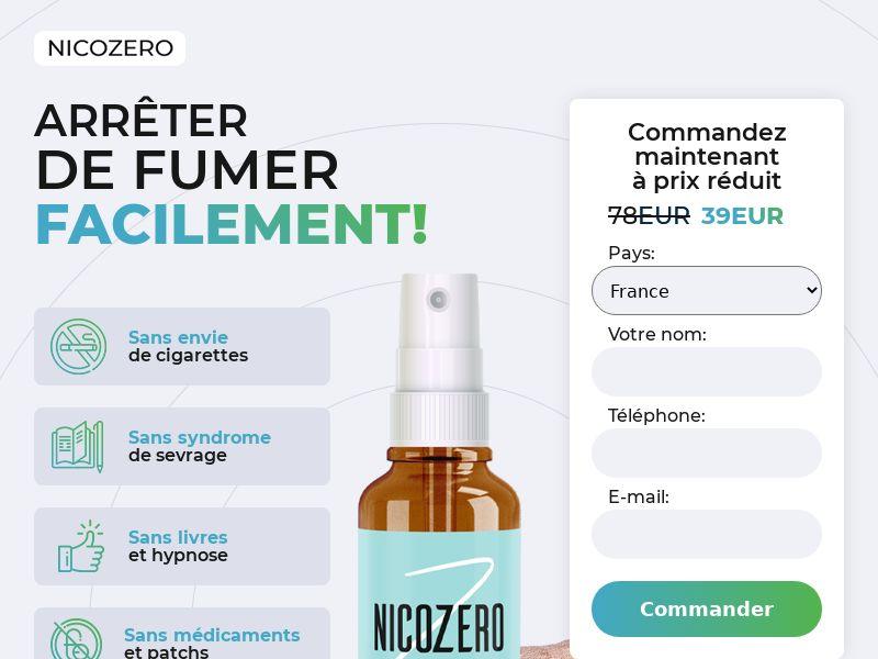 NicoZero FR - treatment for smoking