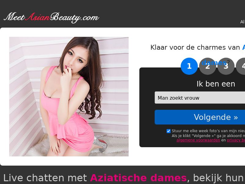MeetAsianBeauty [BE,NL,DE,FR] (Email) - CPL {SubID Approval Required}