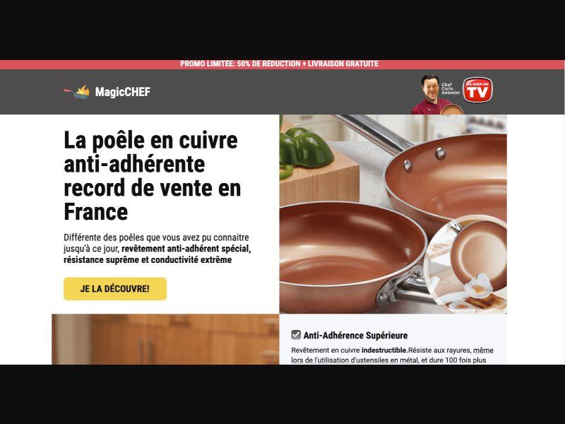 Magic Chef - CC Submit - FR - E-commerce - Responsive