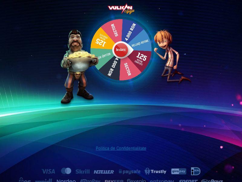 Vulkan Vegas - Wheel - Fb (google) +apps - RO