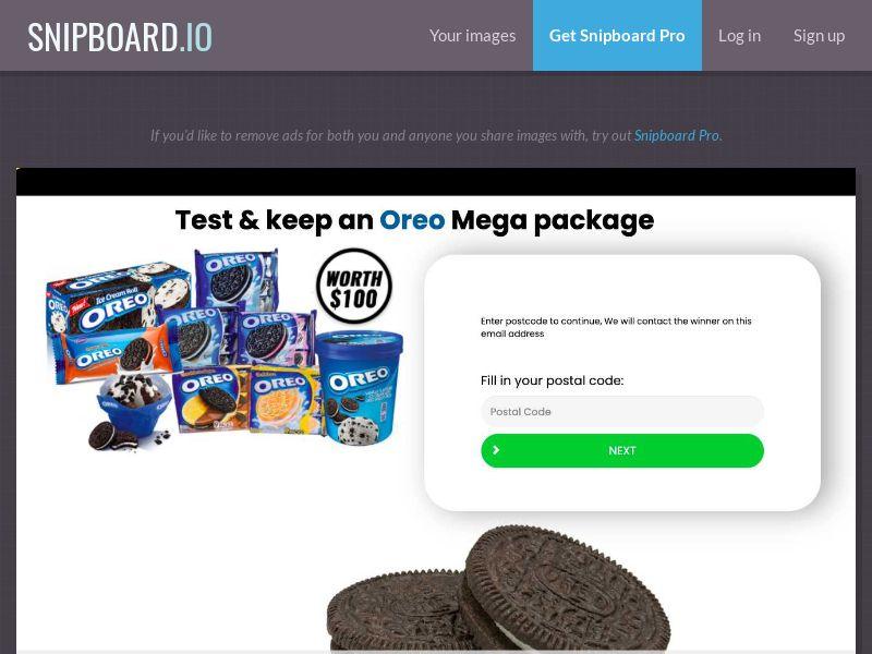 38476 - AU - YouSweeps - Oreo package - SOI
