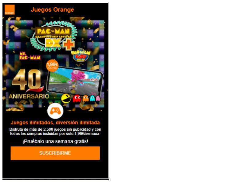 Pacman Orange